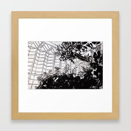 Organic vs Inorganic Framed Art Print