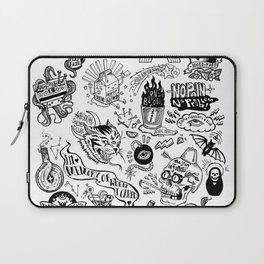 3am Thoughts Club Laptop Sleeve