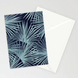 Tropical Fan Palm Leaves #6 #tropical #decor #art #society6 Stationery Cards