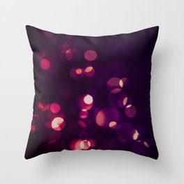 Glowing II Throw Pillow