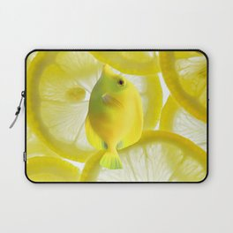 Lemon Fish Laptop Sleeve