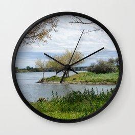 Picnic Spot Wall Clock