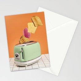 Magic breakfast Stationery Cards