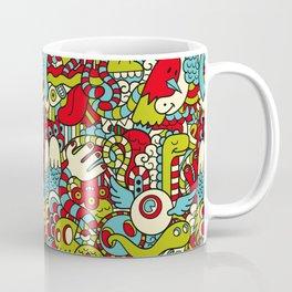Monsters Party Coffee Mug