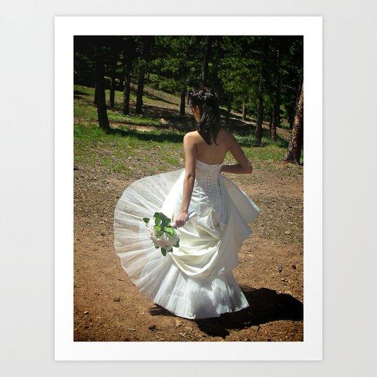Wedding Flare | Bride Art Print