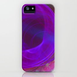 Welcome To The Wormhole iPhone Case
