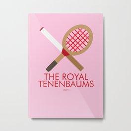 The Royal Tenenbaums Metal Print