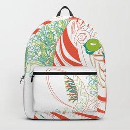 Robot Zebra Backpack