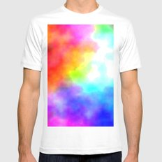 Clo White MEDIUM Mens Fitted Tee