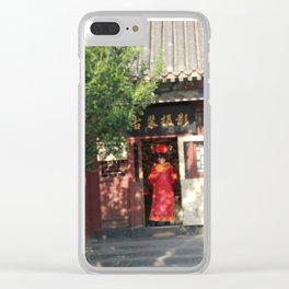 The Summer Palace Gift Shop Clear iPhone Case