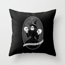 Libra Witchy Zodiac Throw Pillow