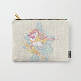 Little french pink bird. Carry-All Pouch