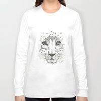 cheetah Long Sleeve T-shirts featuring Cheetah by STATE OF GRACCE