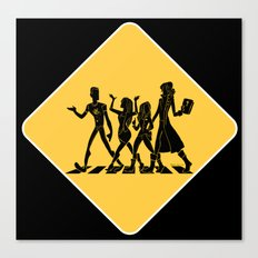 Hollowmentary Crossing Canvas Print