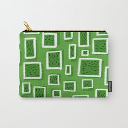greeny square Carry-All Pouch