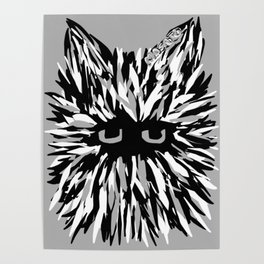 Cat by Masato Poster