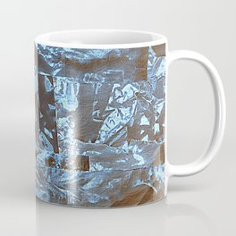 Negative-Style Abstract Pattern Coffee Mug