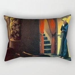 NEW YORK MOVIE - EDWARD HOPPER Rectangular Pillow