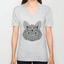Foxy Fox Dark Unisex V-Neck