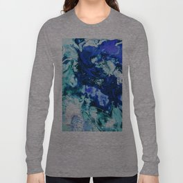 Liquid Abstract Long Sleeve T-shirt