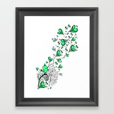 Song about love Framed Art Print