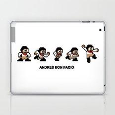 8-bit Andres 5 pose v1 Laptop & iPad Skin