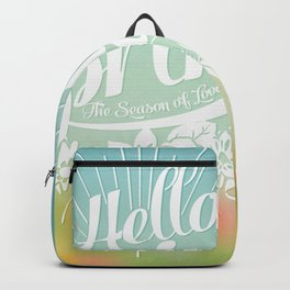 Spring - The Season of Love Backpack