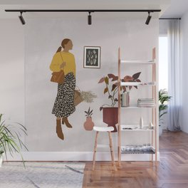 Hanging Out With Plants Wall Mural