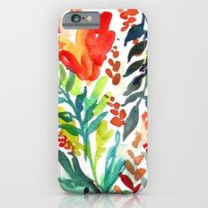 Watercolor Floral iPhone 6s Slim Case