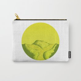 Yellow Y Path Carry-All Pouch