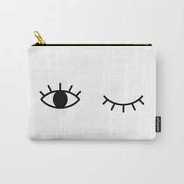 Winking Carry-All Pouch