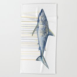 Tiger Shark Beach Towel