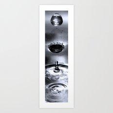 The Life of a Tear Drop Art Print