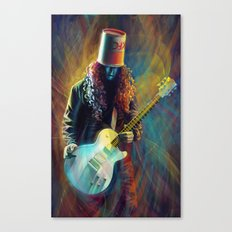 Buckethead Canvas Print