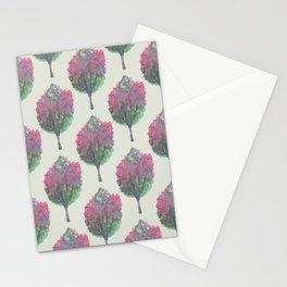 crepe myrtle pattern Stationery Cards