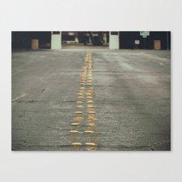 yellow light reflectors Canvas Print