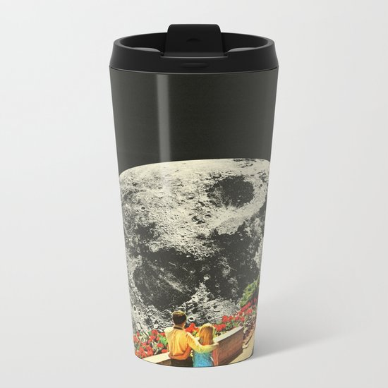 Moonwalk love Metal Travel Mug
