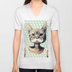 Kitten Unisex V-Neck