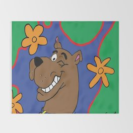 Scooby Throw Blanket