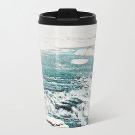 Gullfoss Waterfall Travel Mug
