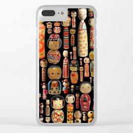 Kokeshi Clear iPhone Case