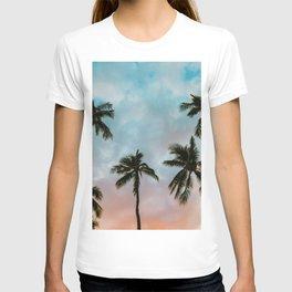 Palms Above (Color) T-shirt