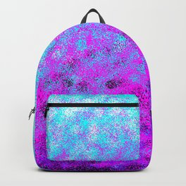Totally Awesome Bright Turquoise & Fuchsia Pink Backpack