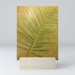Tropical leaf Mini Art Print