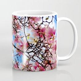 A world full of magnolias - Fine Art Natural Photography Coffee Mug