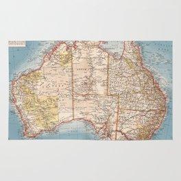 Australian Topography Map (1905) Rug