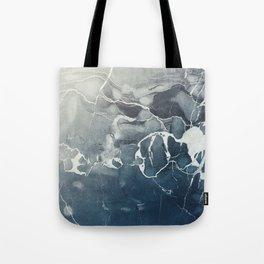Ultramarine Marble Tote Bag