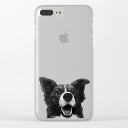 who's a good boy? Clear iPhone Case