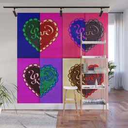 8 parts of love Wall Mural