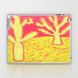 Yellow Cacti Laptop & iPad Skin